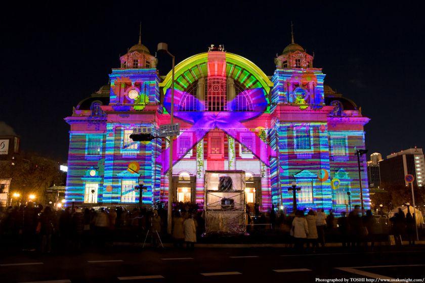 大阪市中央公会堂 『光絵画』(光のルネサンス2009)04