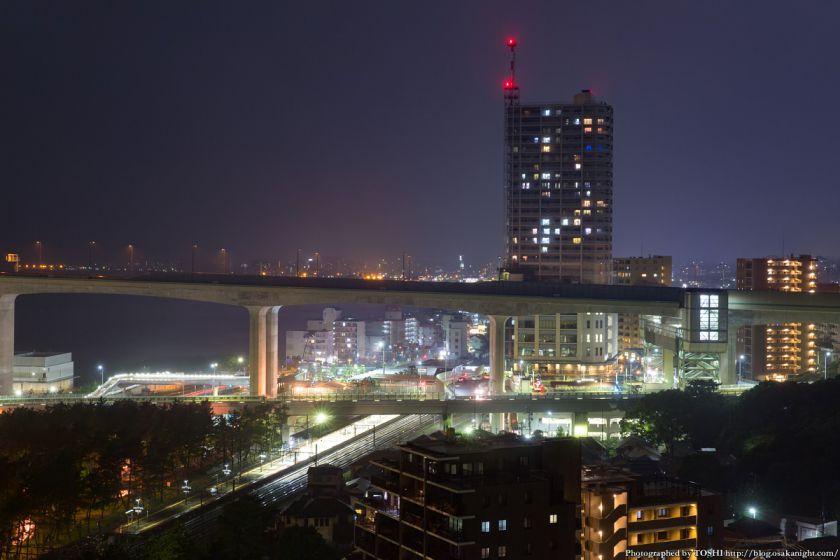シーサイドホテル舞子ビラ神戸 舞子駅 夜景