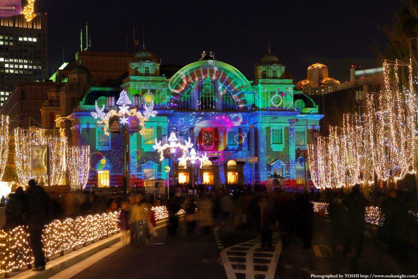 大阪市中央公会堂 『光絵画』(光のルネサンス2009)05