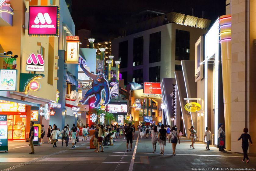 ユニバーサル・シティウォーク大阪 夜景 2015年7月 07