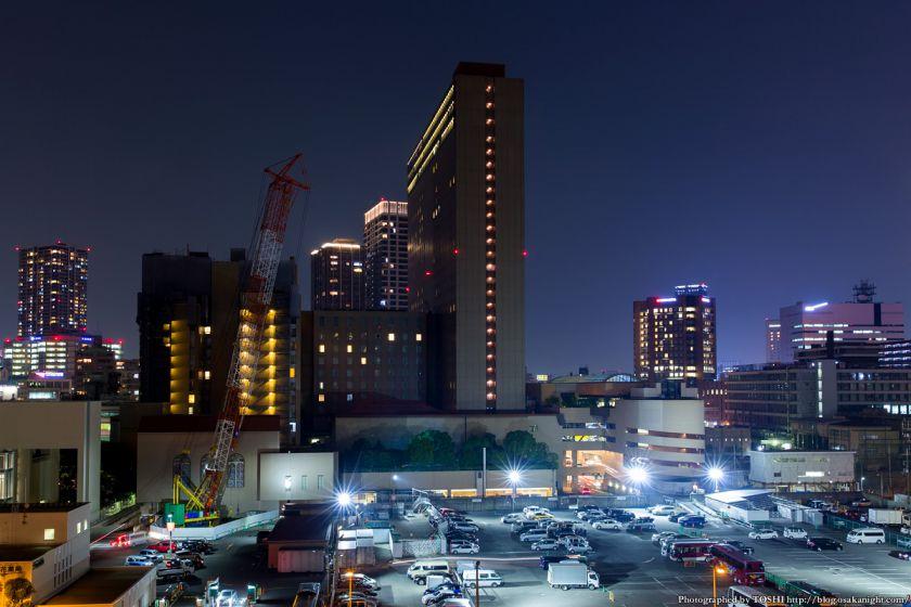 中之島5丁目 リーガロイヤルホテル 夜景