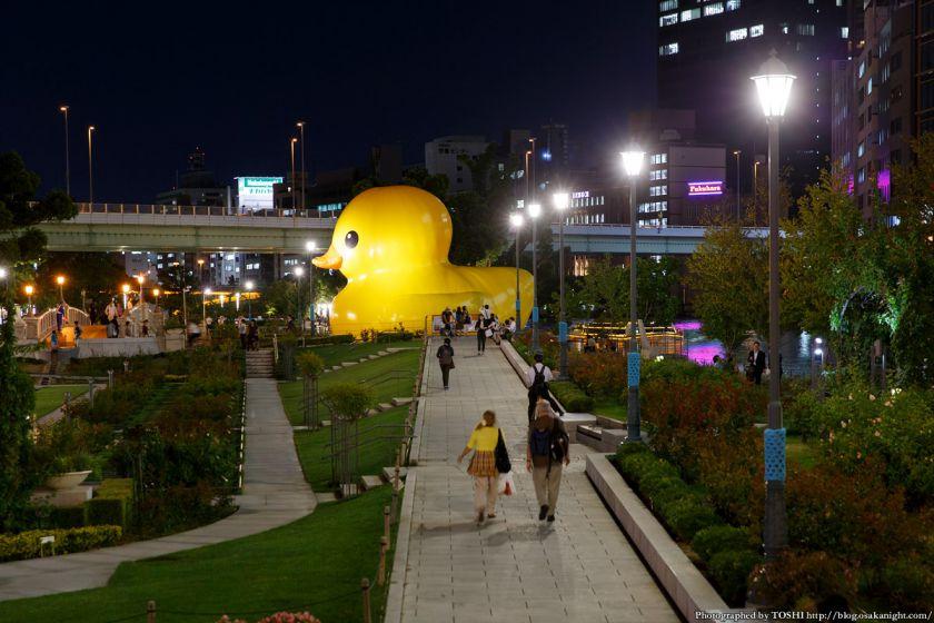 ラバーダック in 水都大阪フェス2015 08