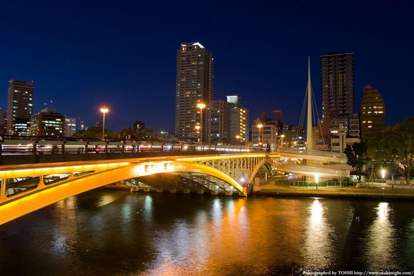 天神橋の夜景01