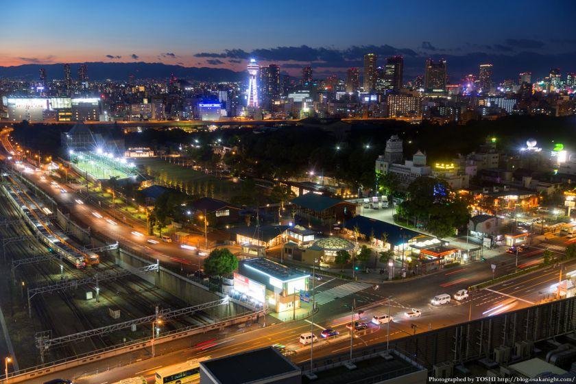 天王寺公園 てんしば 夕景 2015年10月 02