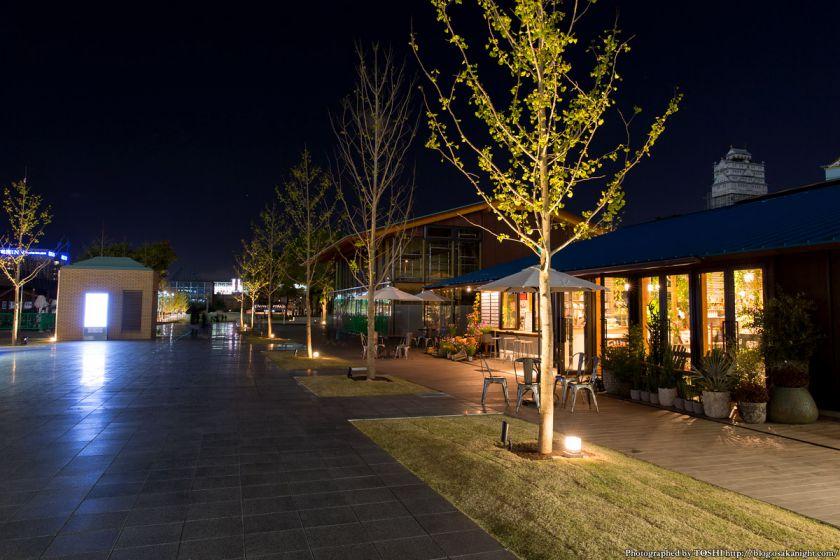 天王寺公園 てんしば 夜景 2015年10月 03 メインストリート