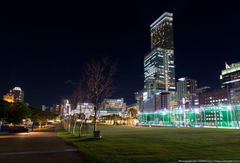 天王寺公園 てんしば 夜景 2015年10月 07 てんしばとハルカス