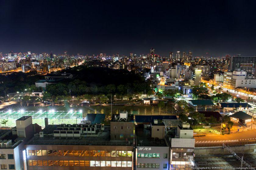 天王寺公園 てんしば 夜景 2015年10月 08 天王寺公園全景
