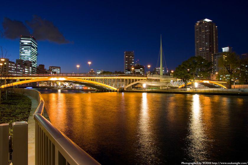 天神橋の夜景02