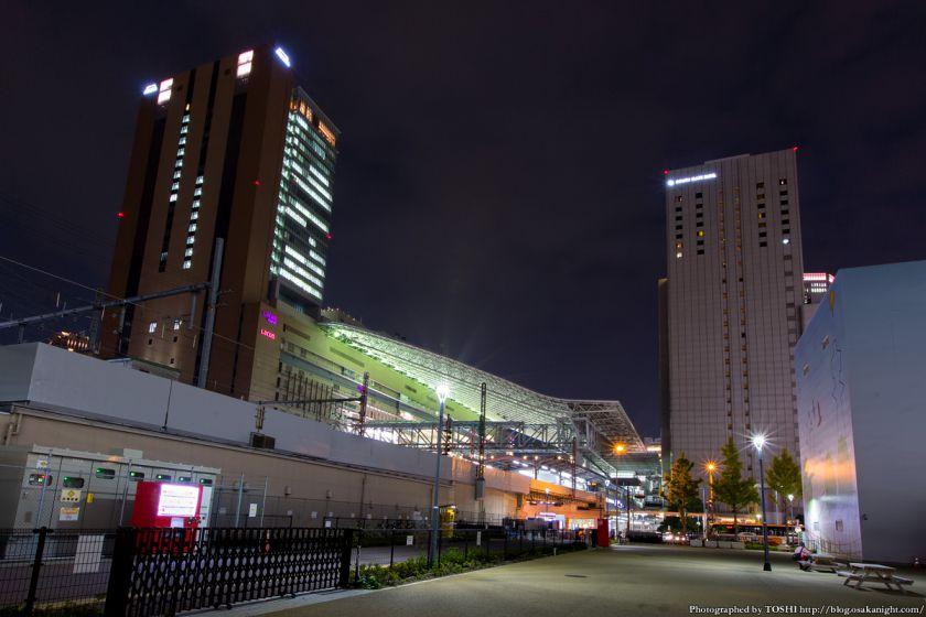 西梅田スクエア 夜景 04 JR大阪駅