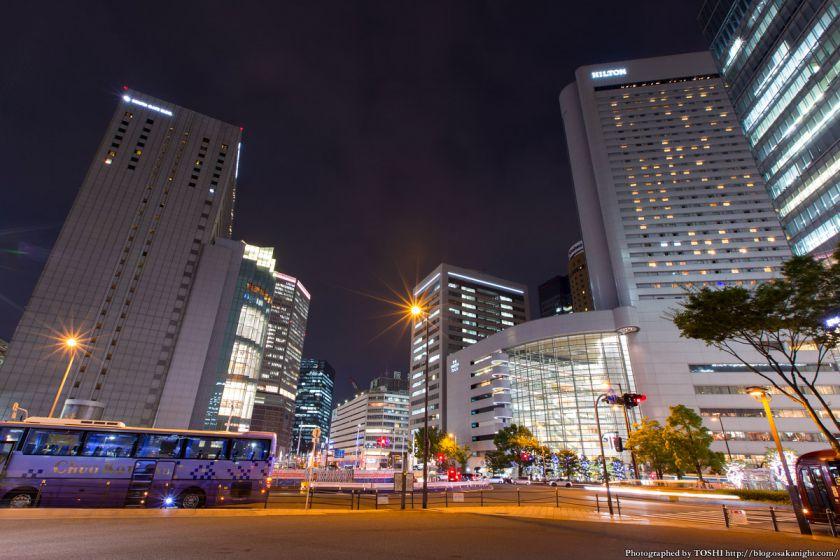 西梅田スクエア 夜景 05 大阪駅前1