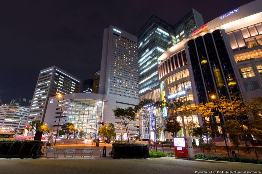 西梅田スクエア 夜景 06 大阪駅前2