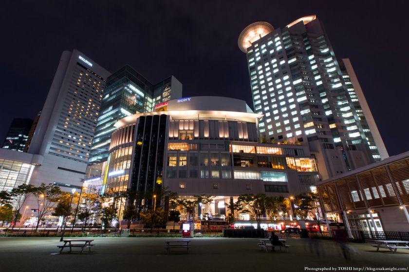 西梅田スクエア 夜景 07 大阪ガーデンシティ1