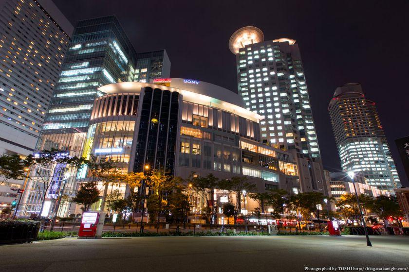 西梅田スクエア 夜景 08 大阪ガーデンシティ2