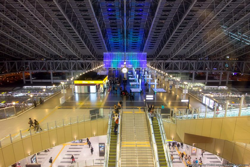 大阪ステーションシティ トワイライトファンタジー 2015 01