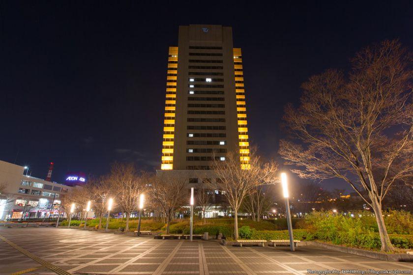 東大阪市役所本庁舎 ライトアップ 02