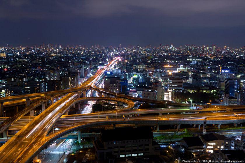 東大阪市役所からの夜景 2016年1月 05