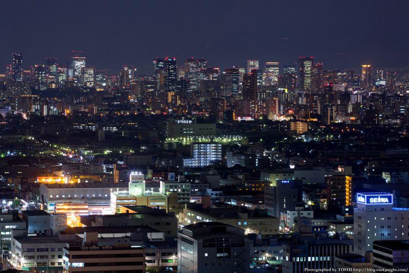 東大阪市役所からの夜景 2016年1月 06 梅田〜中之島