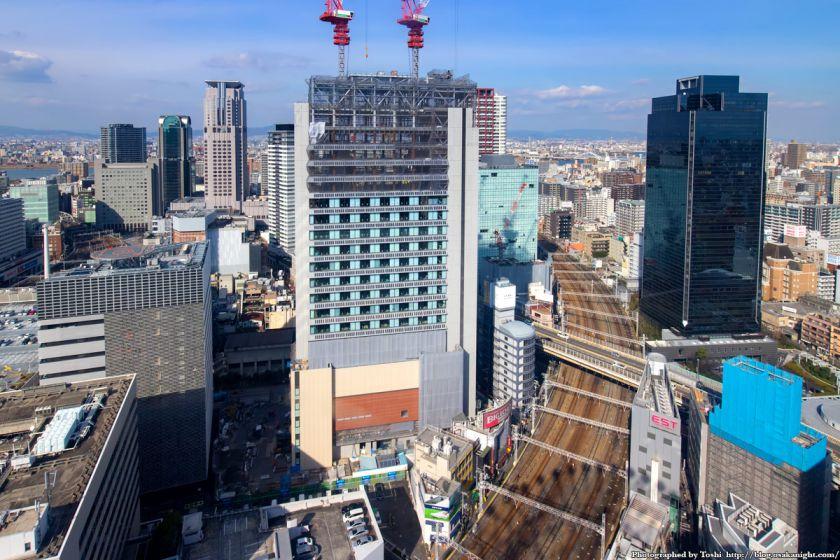 常翔学園 梅田キャンパス from HEP FIVE観覧車 2016年2月 02