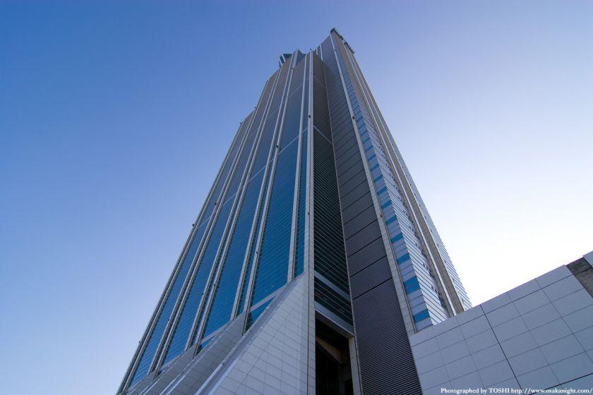 WTCコスモタワー見上げ