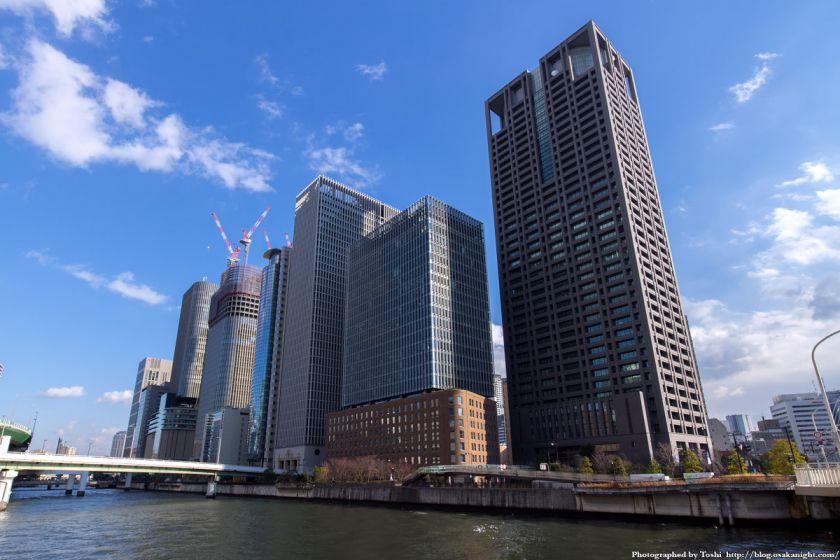 中之島の超高層ビル群 2016年1月 01