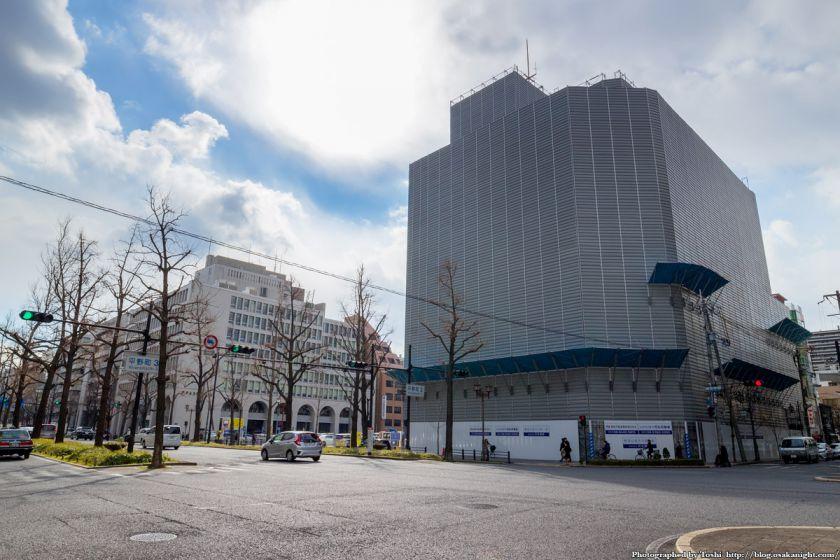 日鉄御堂筋ビル 解体工事 2016年2月
