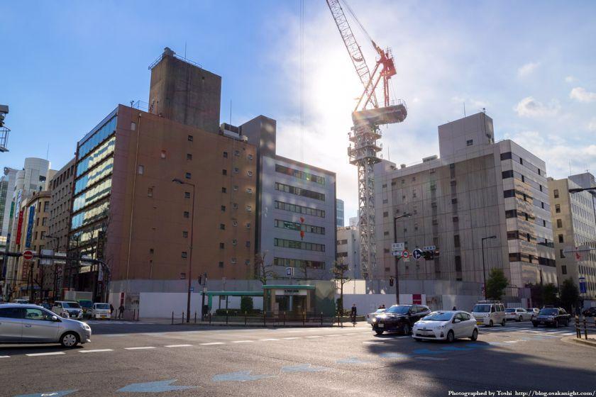 大阪商工信用金庫新本店ビル 2016年2月