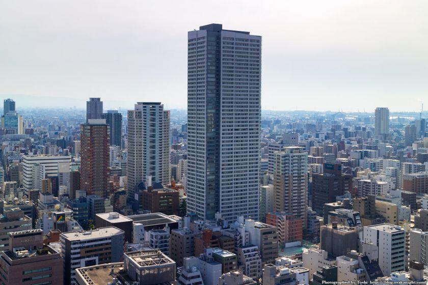 新町地区の高層マンション群 2016年2月