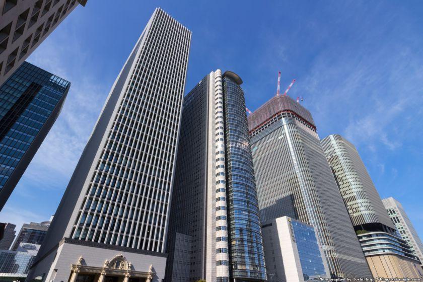 中之島の高層ビル群 2016年3月 01