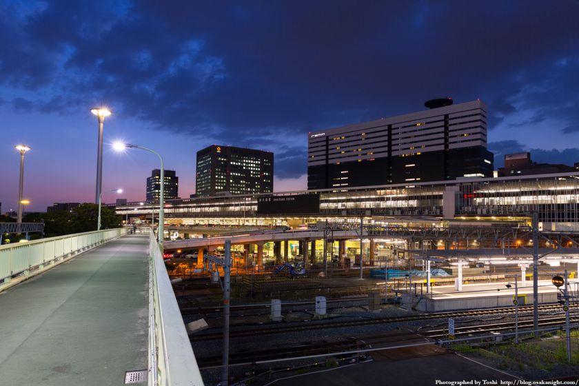 新大阪駅 夕景 2016年6月