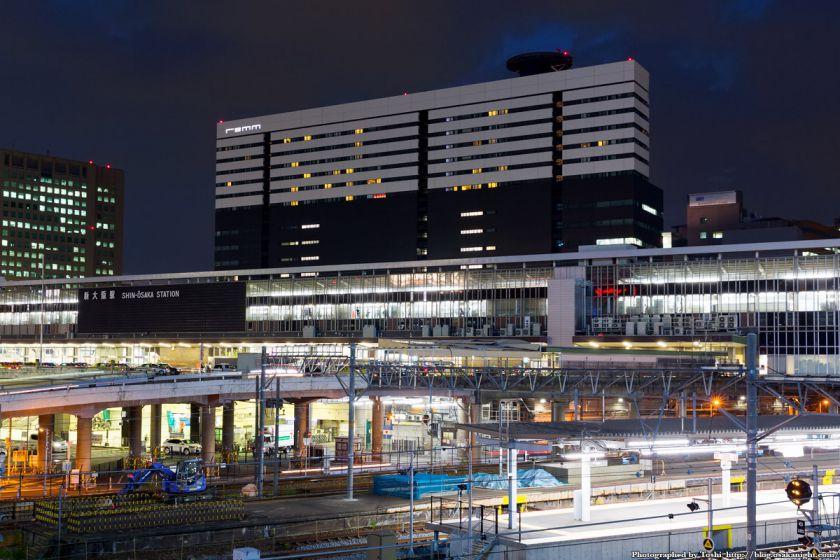 新大阪駅 夜景 2016年6月