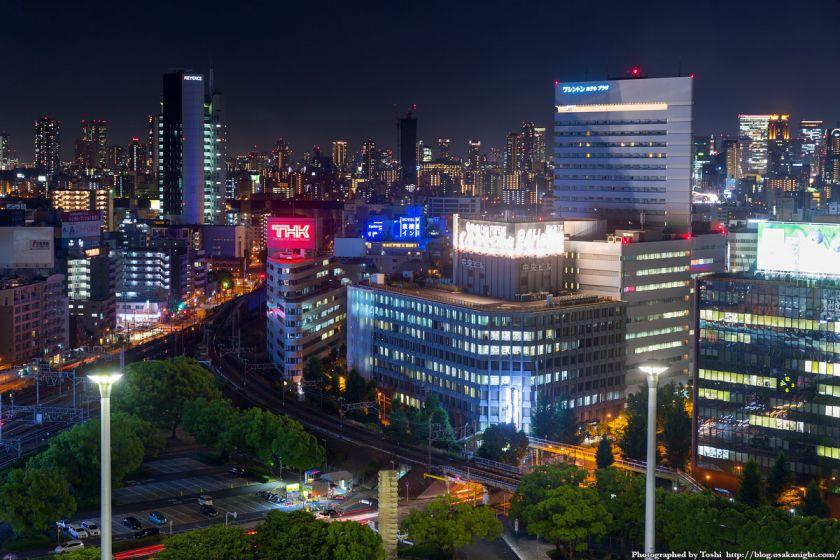レム新大阪 南側 夜景 (新大阪駅前) 2016年6月 04