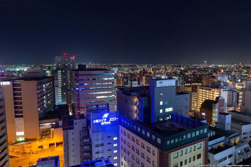 レム新大阪 北側 夜景 2016年6月 01