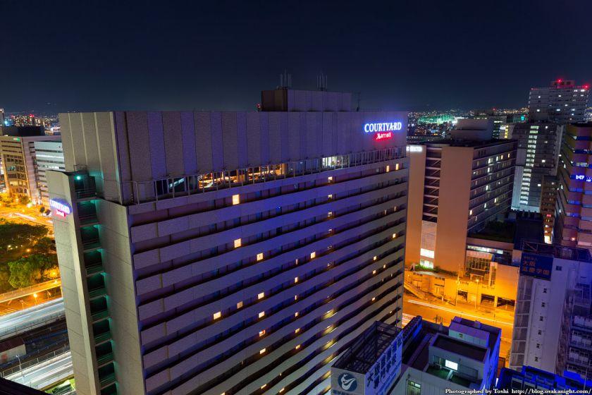 レム新大阪 北側 夜景 2016年6月 02