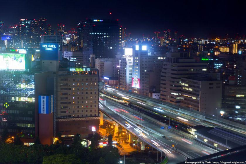 新御堂筋 夜景 2016年6月