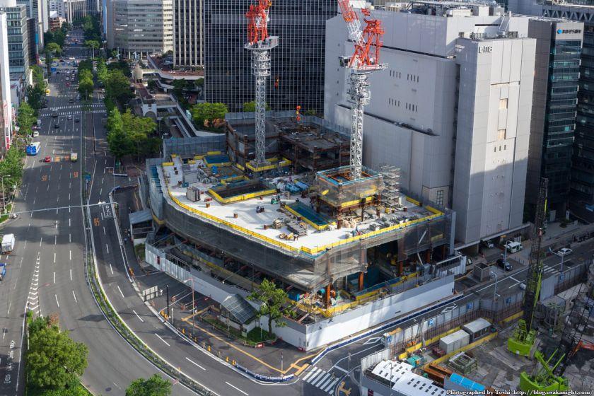 梅田1丁目1番計画ビル 新阪急ビル部分 2016年7月