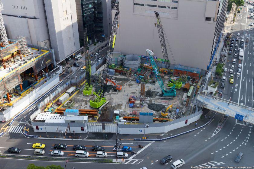 梅田1丁目1番計画ビル 大阪神ビル(1期)部分 2016年7月