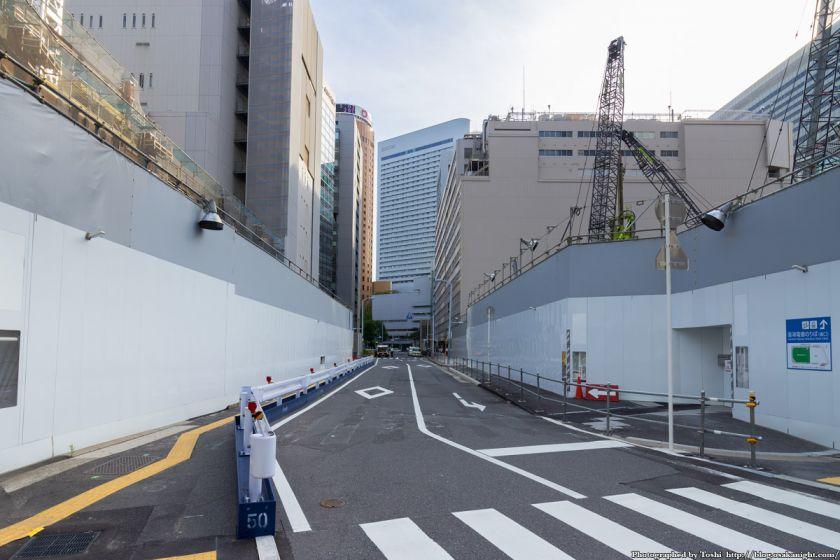 梅田1丁目1番計画ビル 広路5大阪駅前線支線2号線 2016年7月