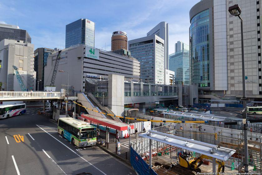 大阪駅南側広場整備 スカイウォーク(歩道橋) 2016年7月 01
