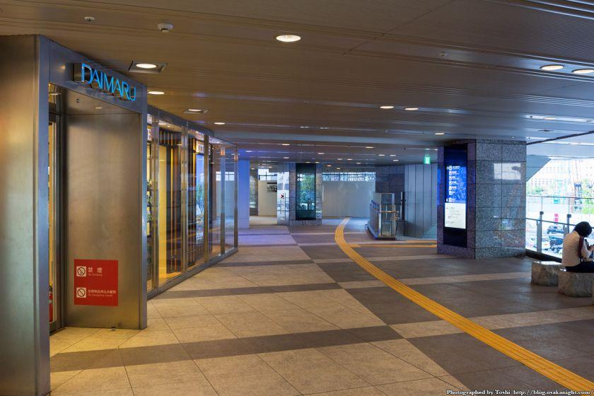 大阪駅南側広場整備 スカイウォーク(歩道橋) 2016年7月 02