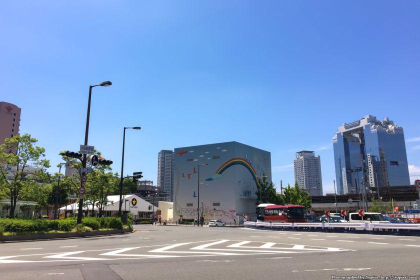 大阪中央郵便局跡地 西梅田スクエア 2016年7月