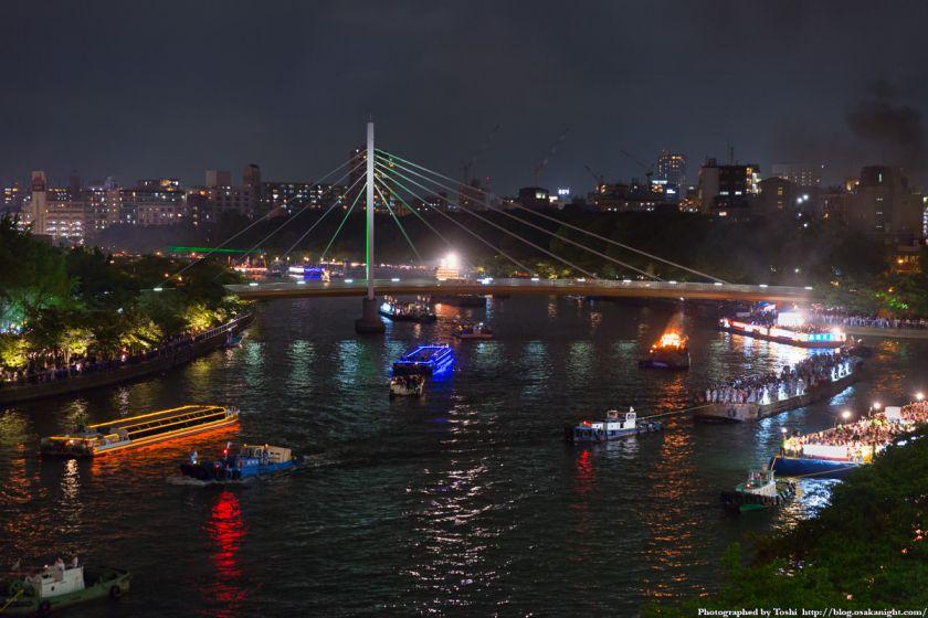天神祭 2016 船渡御 05 川崎橋