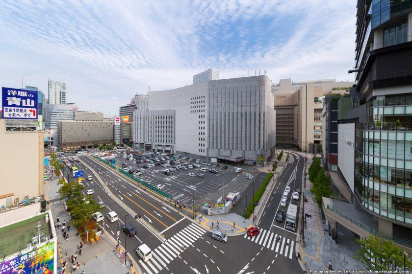 (仮称)ヨドバシ梅田タワー 建設予定地 全景 2016年9月