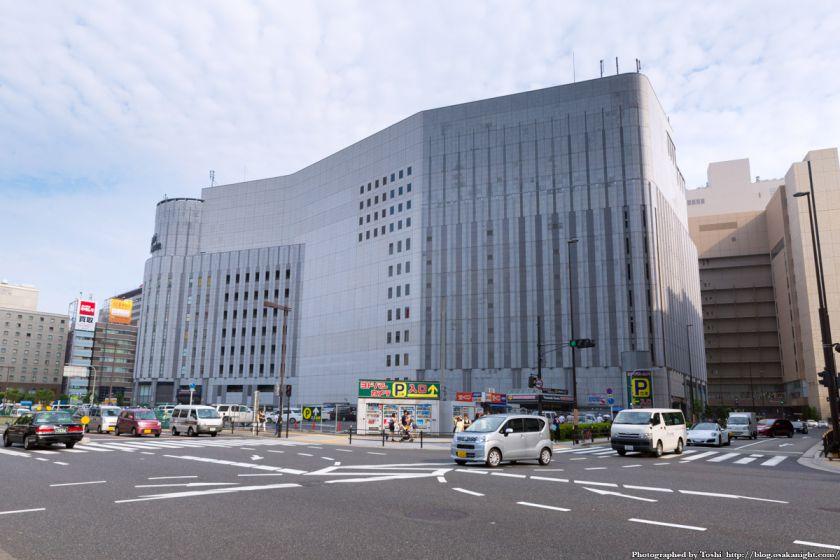 (仮称)ヨドバシ梅田タワー 建設予定地 北西側より 2016年9月