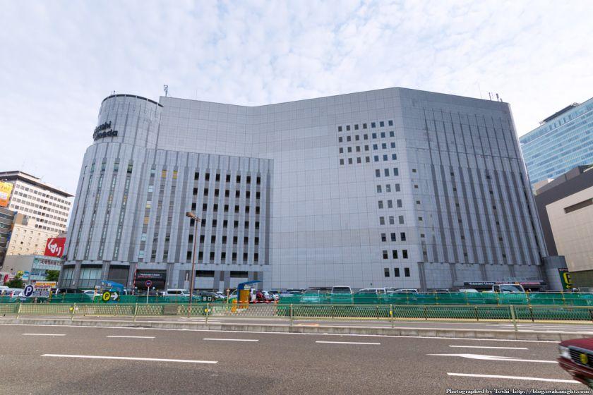 (仮称)ヨドバシ梅田タワー 建設予定地 北側より 2016年9月