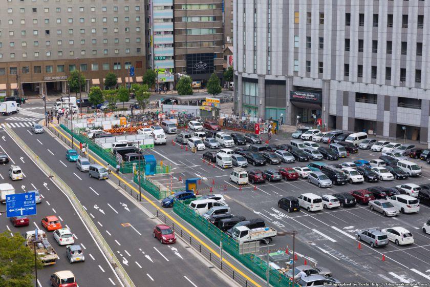 (仮称)ヨドバシ梅田タワー 建設予定地 俯瞰 2016年9月