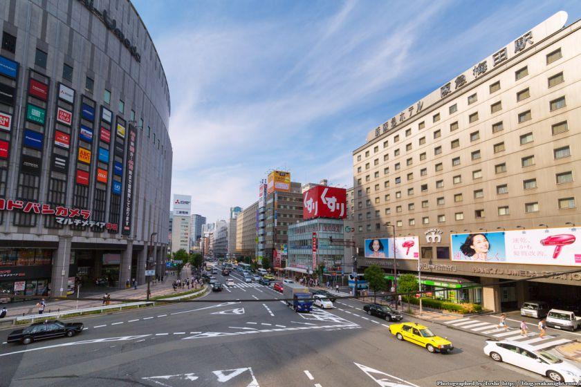 ヨドバシ梅田 一体開発 Aデッキ予定地 02 2016年9月
