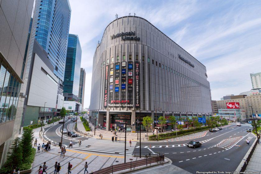 ヨドバシ梅田 一体開発 Bデッキ予定地 01 2016年9月
