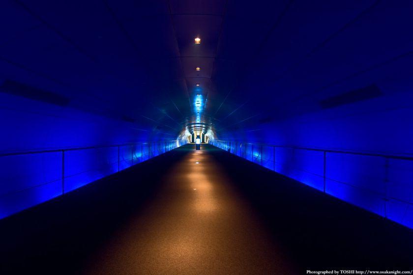 なにわの海の時空館 海底トンネル