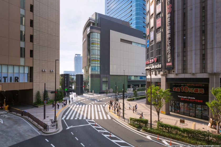 ヨドバシ梅田 一体開発 Bデッキ予定地 02 2016年9月
