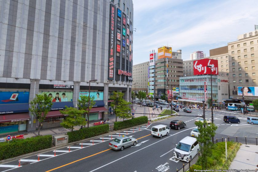 ヨドバシ梅田 一体開発 Aデッキ予定地 01 2016年9月